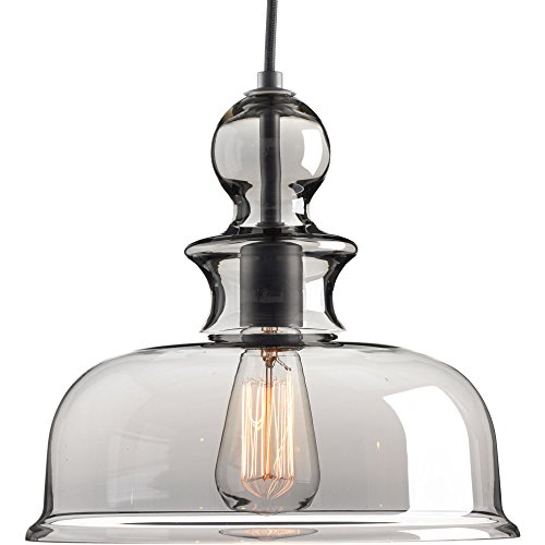 One Pendant Light Over Peninsula