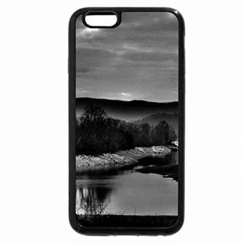 iPhone 6S Plus Case, iPhone 6 Plus Case (Black & White) - Sunset
