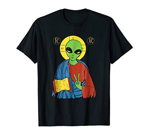 Charles Darwin Evolution T-shirt Atheist Aliens Atheism ()