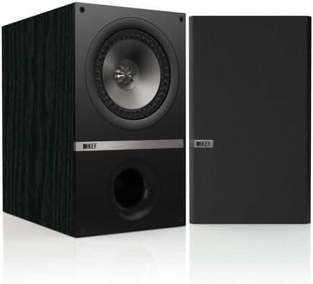 KEF Q300B Bookshelf Loudspeakers - Black Ash (Pair)