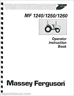 JS-MH-O-MF65 Massey Ferguson MF65 Operators Manual