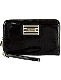 Womens Oversized Zip Around Wallet