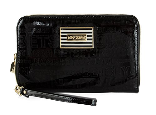 Betsey Johnson Oversized Travel Wristlet Wallet (Womens Bow Clutch)