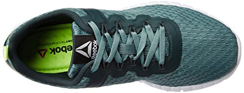 Reebok Zquick Lite - Zapatillas de Entrenamiento Mujer Verde (Teal Dust/Forest Grey/White/Lemon Zest)