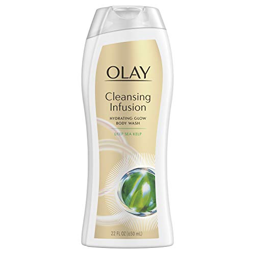 Olay Cleansing Infusion Hydrating Body Wash, Deep Sea Kelp,