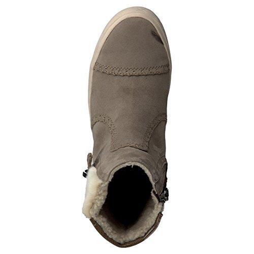 Tamaris Damenschuhe 1-1-26054-37 Damen Stiefeletten, Boots, Stiefel Pepper