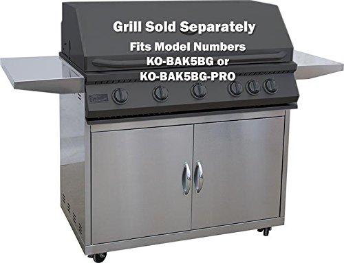 KoKoMo Grills - 5 Burner Grill Cart