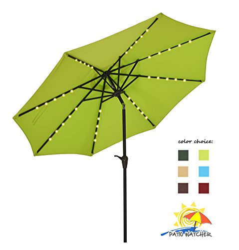 Patio Watcher Outdoor Powered Umbrella