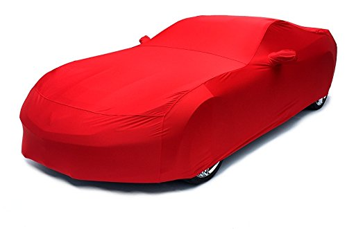 Torch Red Corvette - 2014-current C7 Corvette Stingray Indoor Satin Superstretch Color Matched Torch Red Car Cover W/free Matching Tote Bag
