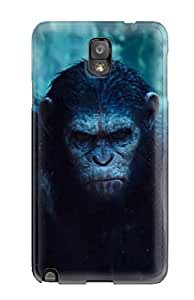 For Galaxy Note 3 Tpu Phone Case Cover(dawn Of The Planet Of The Apes )