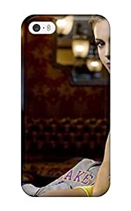Iphone Cover Case - Hot Celebrity Alyssa Milano Protective Case Compatibel With Iphone 5/5s