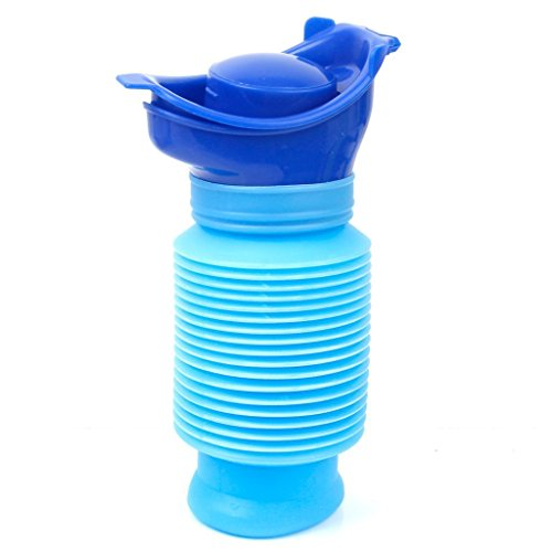 amily Unisex Mini Toilet Urinal Bucket for Travel and Kid Potty Pee Training 750ML ()