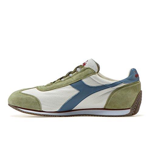 Bianco Diadora Unisex Adulto Scarpe Wash Heritage C7439 Stone Top Secca Equipe 12 Low verde Erba PwfqaPrU
