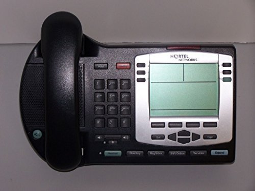 Nortel IP Phone 2004 PoE Charcoal w Silver Bezel (Nortel Phone Cables)
