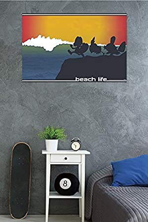 Trends International Pokemon Beach Style Wall Poster 24.25 x 35.75 Multi