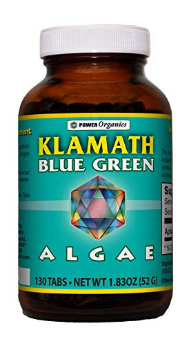 - Klamath Blue Green Algae 130 Tablets by Power Organics