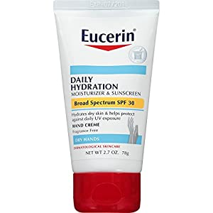Eucerin Daily Hydration Broad Spectrum SPF 30 Body Cream
