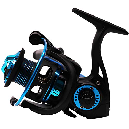 SUPERTHEO Saltwater Corrosion Resistance Fishing Reel No Gap Freshwater Smooth Spinning Fishing Tackle Gear Reels (HM1000)