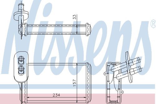 NISSENS 73962 Refrigerantes del Motor