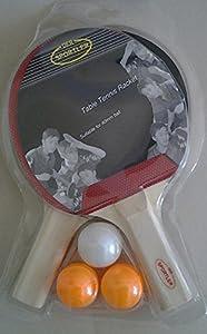 Tischtennis-Set 2 Schläger mit 3 Bällen