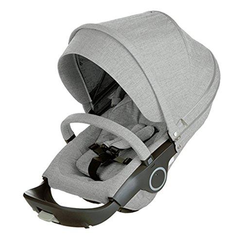 Stokke Stroller Seat, Grey Melange by Stokke
