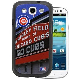 MLB Chicago Cubs Wrigley Field Sign Stadium Collection Samsung Galaxy S3 Hard Case (Baseball Samsung Galaxy S3 Case)