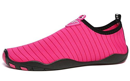 Plongée Aquatique Chausson Homme Pour Été Sport Gaatpot Respirant Antidérapant Chaussures Nager Plage Bain Femme Chaussures de Rose Surf 4gBxS