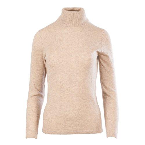 Dunedin Cashmere Damen Pullover Sand Beige ul8HGPOS