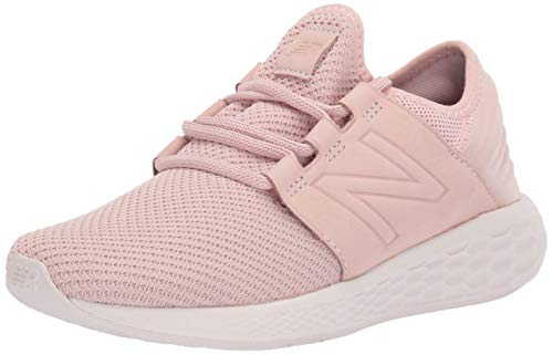 New Balance Women's Cruz V2 Fresh Foam Running Shoe, Oyster Pink Mist/Nubuck, 9.5 D US