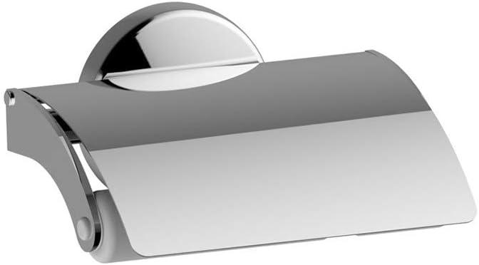 Serie Lipari Porta Rotolo Bianco con Coperchio a Muro Aquasanit