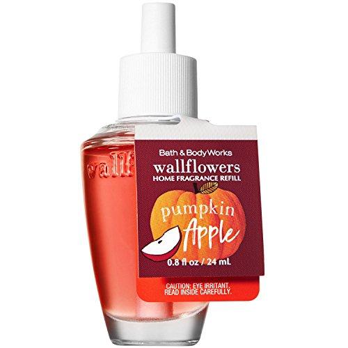 Pumpkin Home Fragrance - Bath and Body Works Pumpkin Apple Wallflowers Home Fragrance Refill 0.8 Fluid Ounce