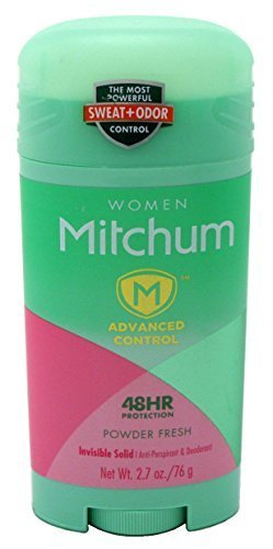 Mitchum Womens Invisible Solid Deodorant - Powder Fresh 80 ml by Mitchum
