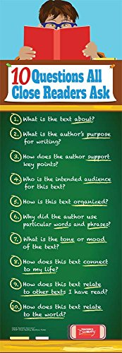 Close Reading Questions Skinny Poster