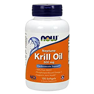 NOW Neptune Krill Oil,120 Softgels