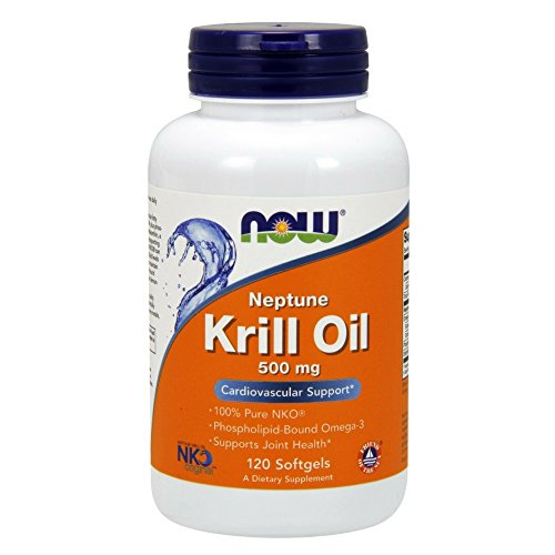 NOW Neptune Krill Oil,120 Softgels - Nko Krill Oil
