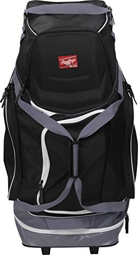 (Rawlings Wheeled Baseball/Softball Equipment Bag)