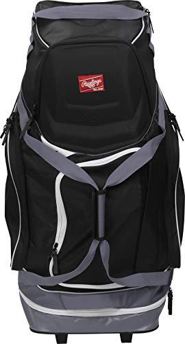 - Rawlings Wheeled Baseball/Softball Equipment Bag