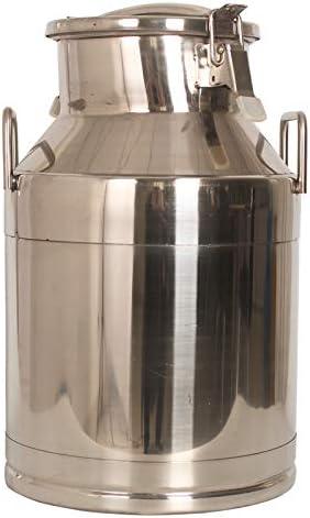 Lid 10 Litre Stainless Steel Milk Churn