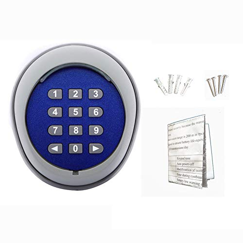 Gate Keypad (GATEXPERT Wireless Keypad Compatible with Automatic Gate Opener, Keyless for Sliding Gate Operator Panel(Opener Accesssories))