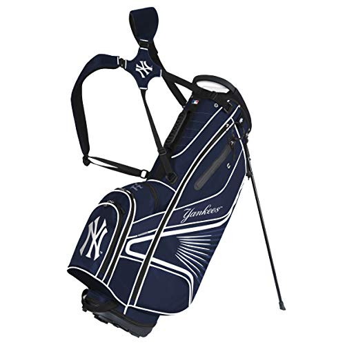 Team Effort MLB New York Yankees MLB New York Yankees Gridiron III Stand BagTeam Effort MLB New York Yankees Gridiron III Stand Bag, Multi, NA