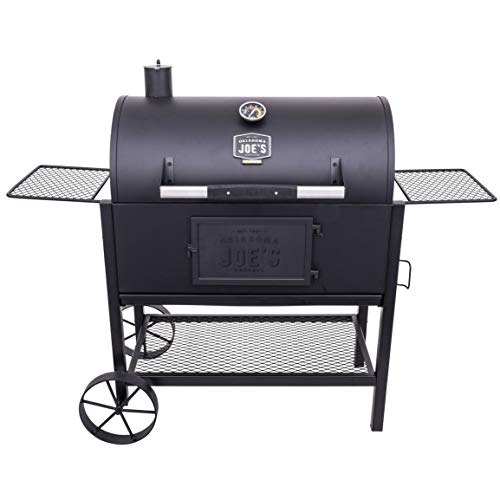 Oklahoma Joe's 19302087 Judge Charcoal Grill, Black