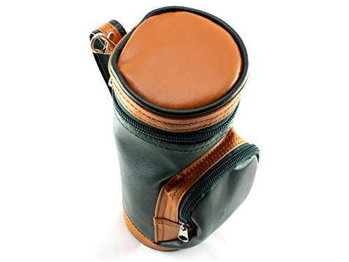 PU Leather Cigar Pouch & Accessory Pocket Photo #6