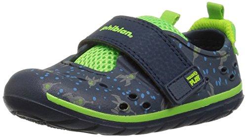 Stride Rite Boys' M2P Phibian Baby Sandal, Blue, 5 Medium US Toddler