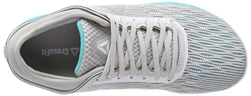 8 Nano 0 da Teal White Donna Bianco Reebok Fitness 000 Grey Crossfit Scarpe x61EF