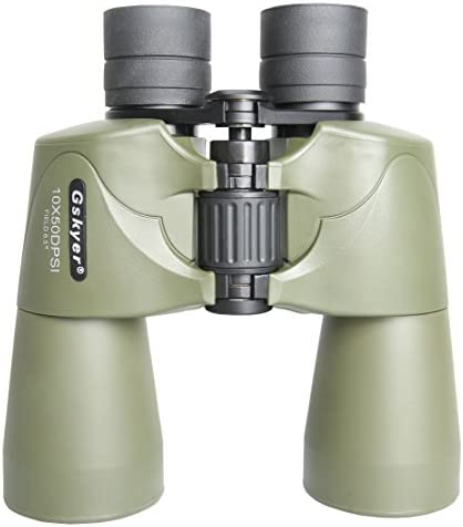 Gskyer UV Protection 10x50DPSI Binoculars with Carrying Bag