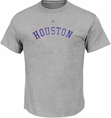 new concept 3de35 4215c Amazon.com : Majestic Houston Astros MLB Classic T Shirt ...