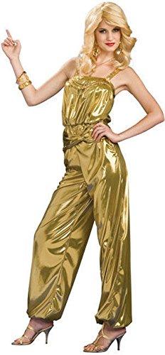 70s gold dress - 1