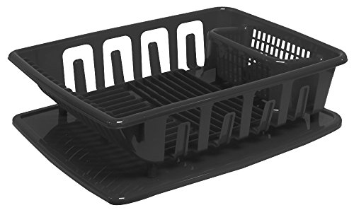United Solutions SK0123 2-Piece Sink Set Dish Drainer and Dr