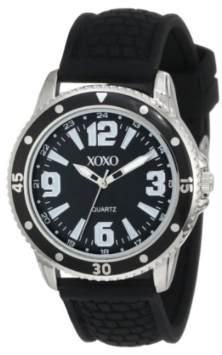 Women 39 s watches xoxo women 39 s xo8073 black analog silicone strap watch was listed for for Watches xoxo