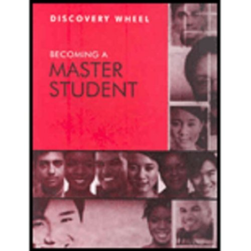 Ellis Becoming A Master Student Discovery Wheel Twelfth Edition